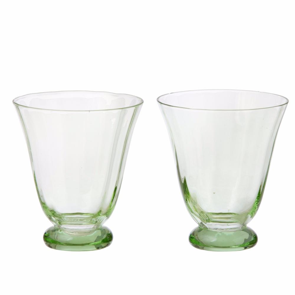 Trellis Water Glass Ivy