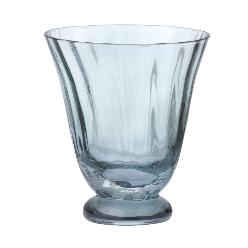 Trellis Water Glass Topaz