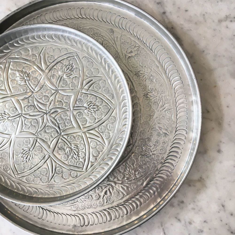 PATTERNED KASHMIRI TRAYS