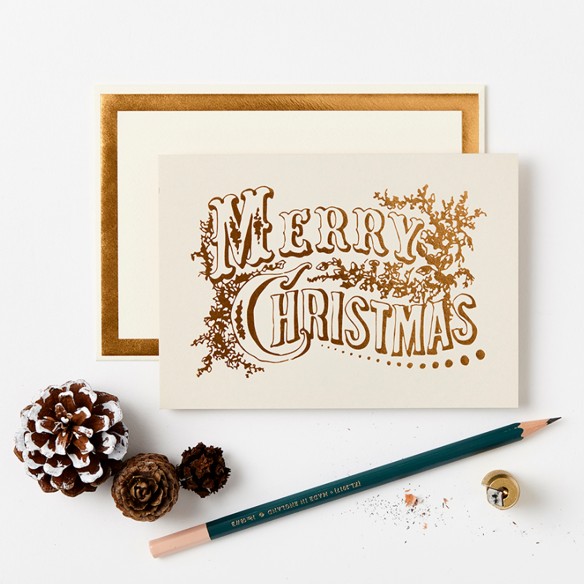 CARD PACK OF 8 - MERRY CHRISTMAS