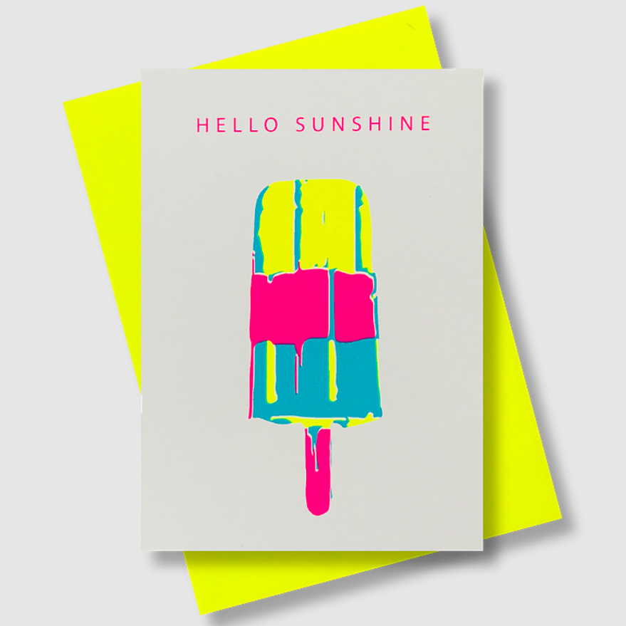 CARD - HELLO SUNSHINE