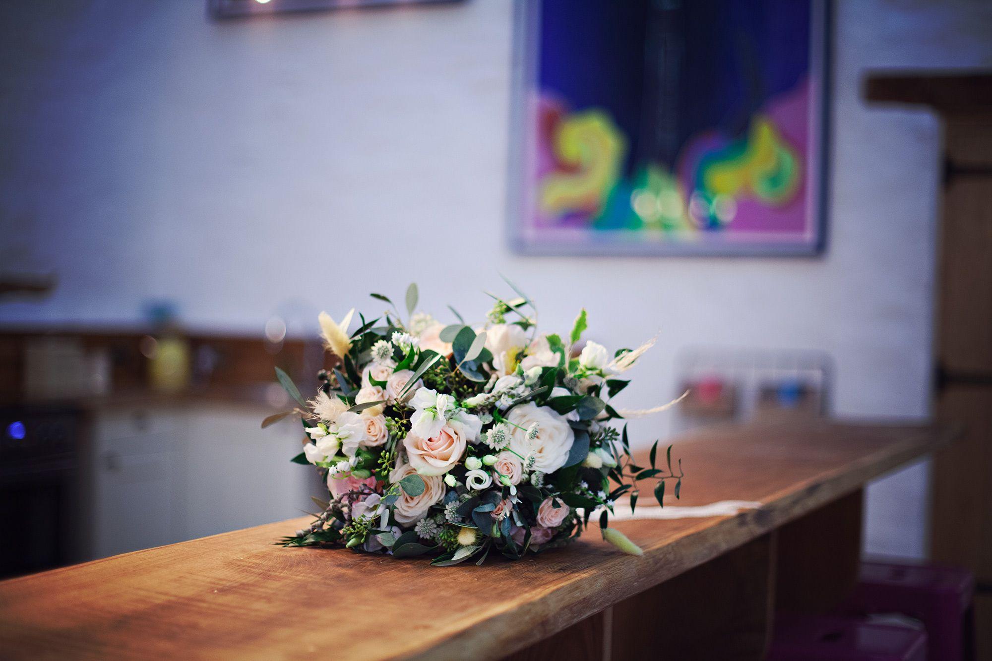 Wedding venue for hire Wern-Y-Cwm Wales. Wedding flowers