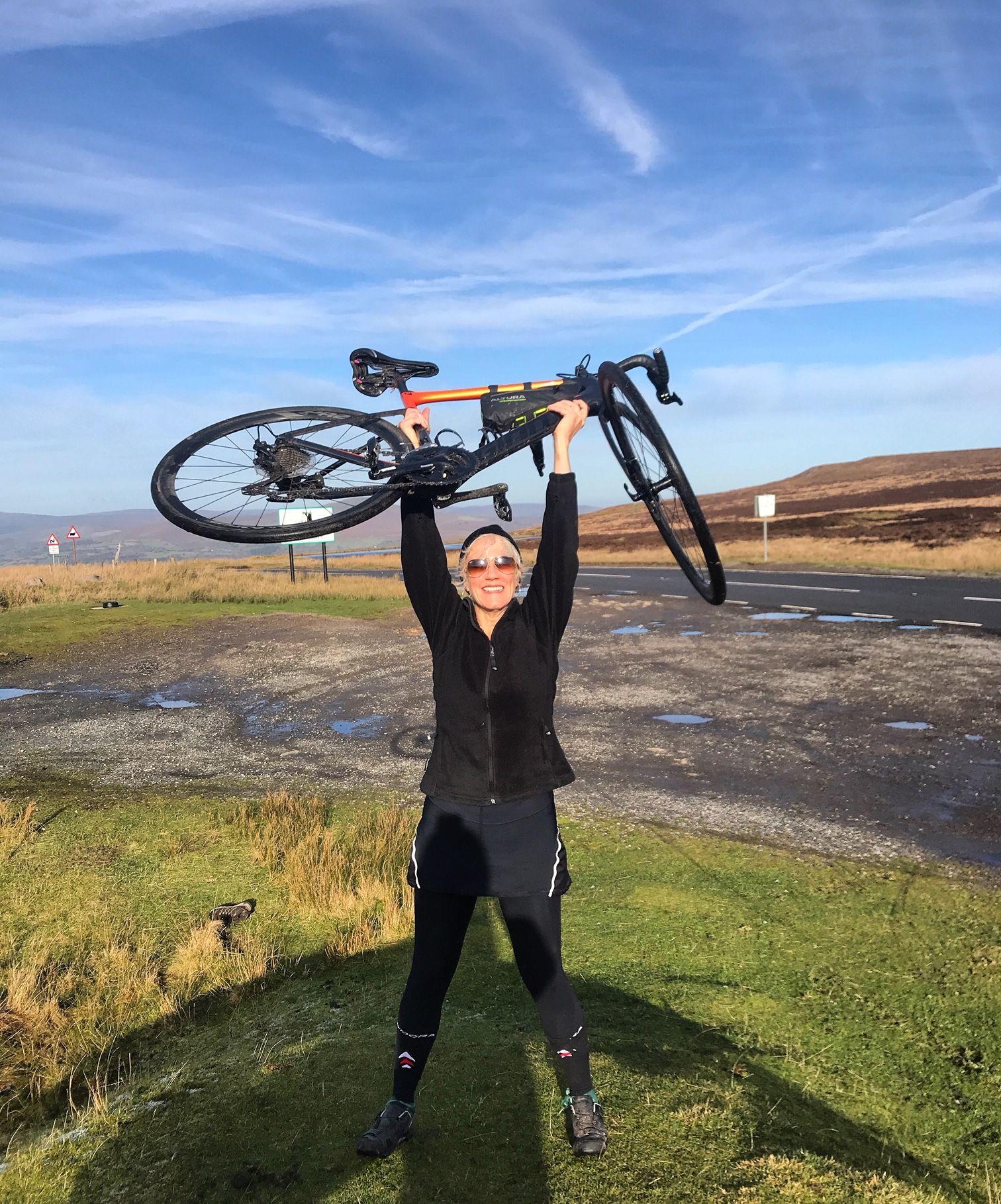 Wern-Y-Cwm Weddings and accomodation Wales bike