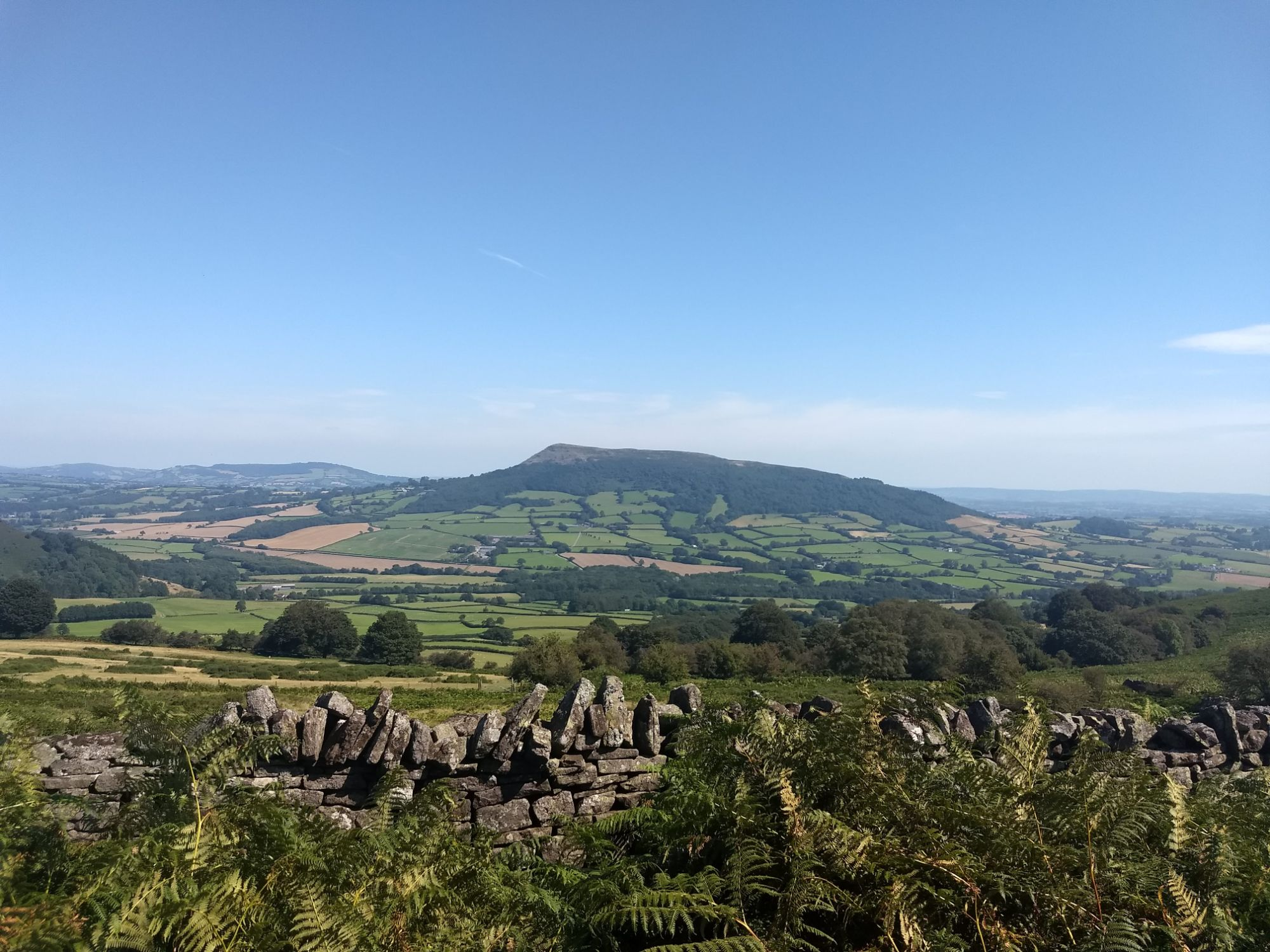 Wern-Y-Cwm Weddings and accomodation Wales scenery skirrid mountain hikes