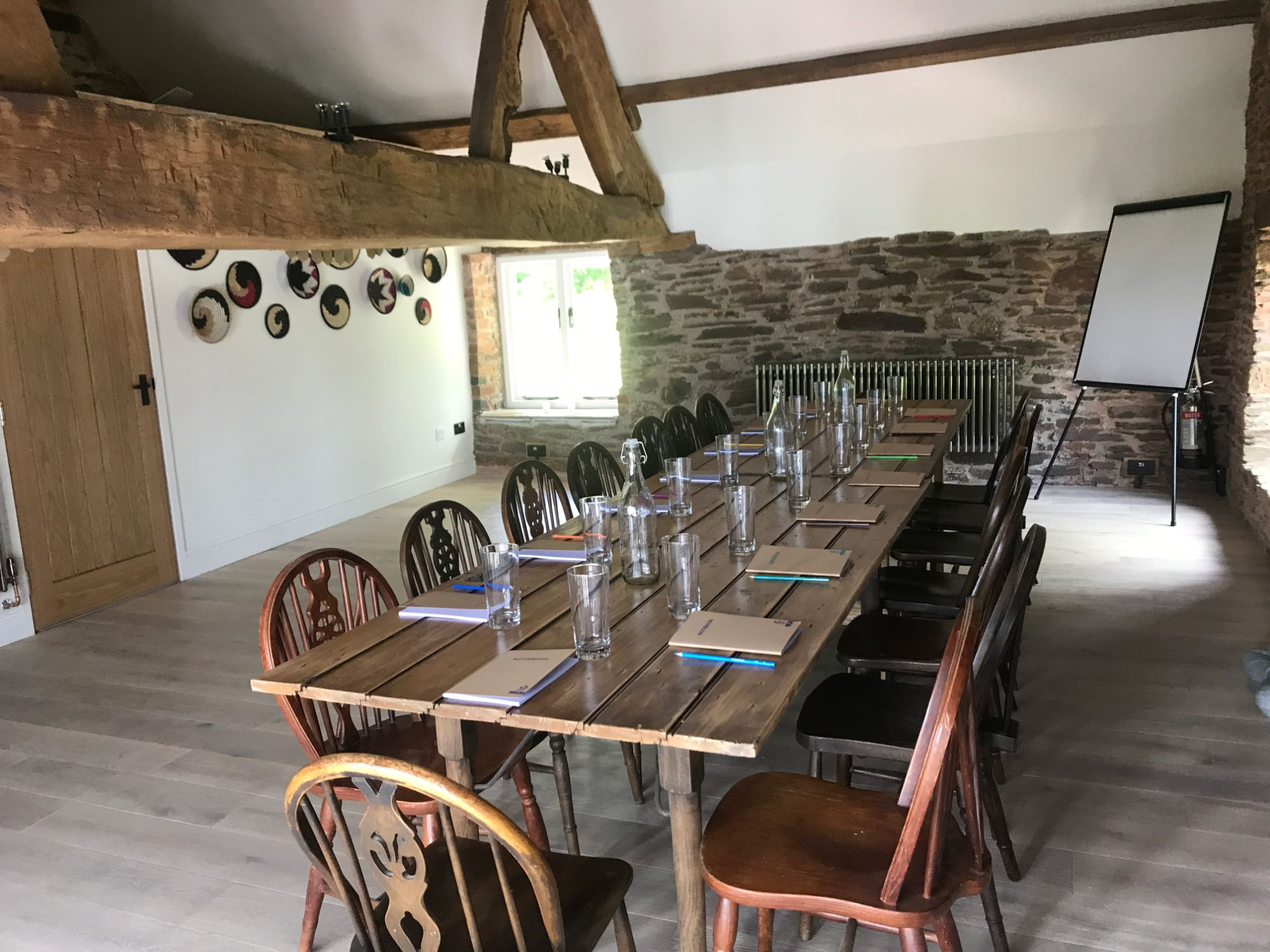 Wern-Y-Cwm Weddings and accomodation Wales granary room great barn business retreat venue