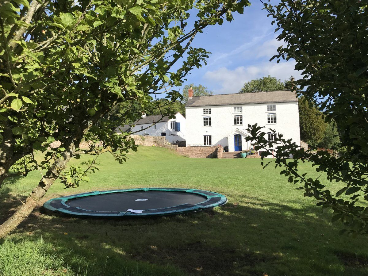 Wern-Y-Cwm Weddings and accomodation Wales trampoline