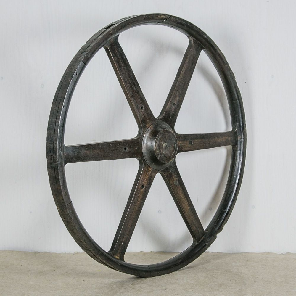 Wooden Foundry Wheel Mould