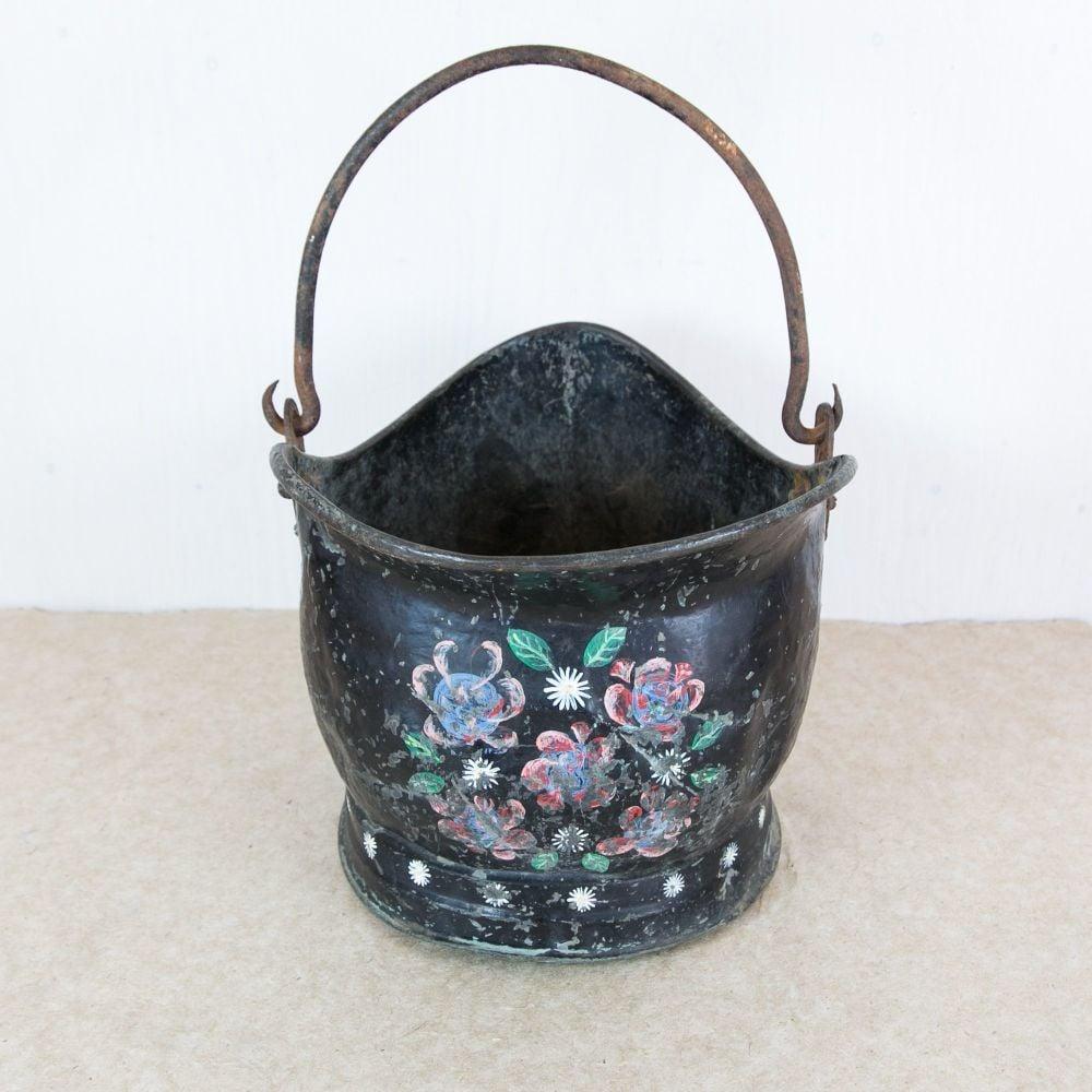 Vintage Bargee's Coal Scuttle £85.00