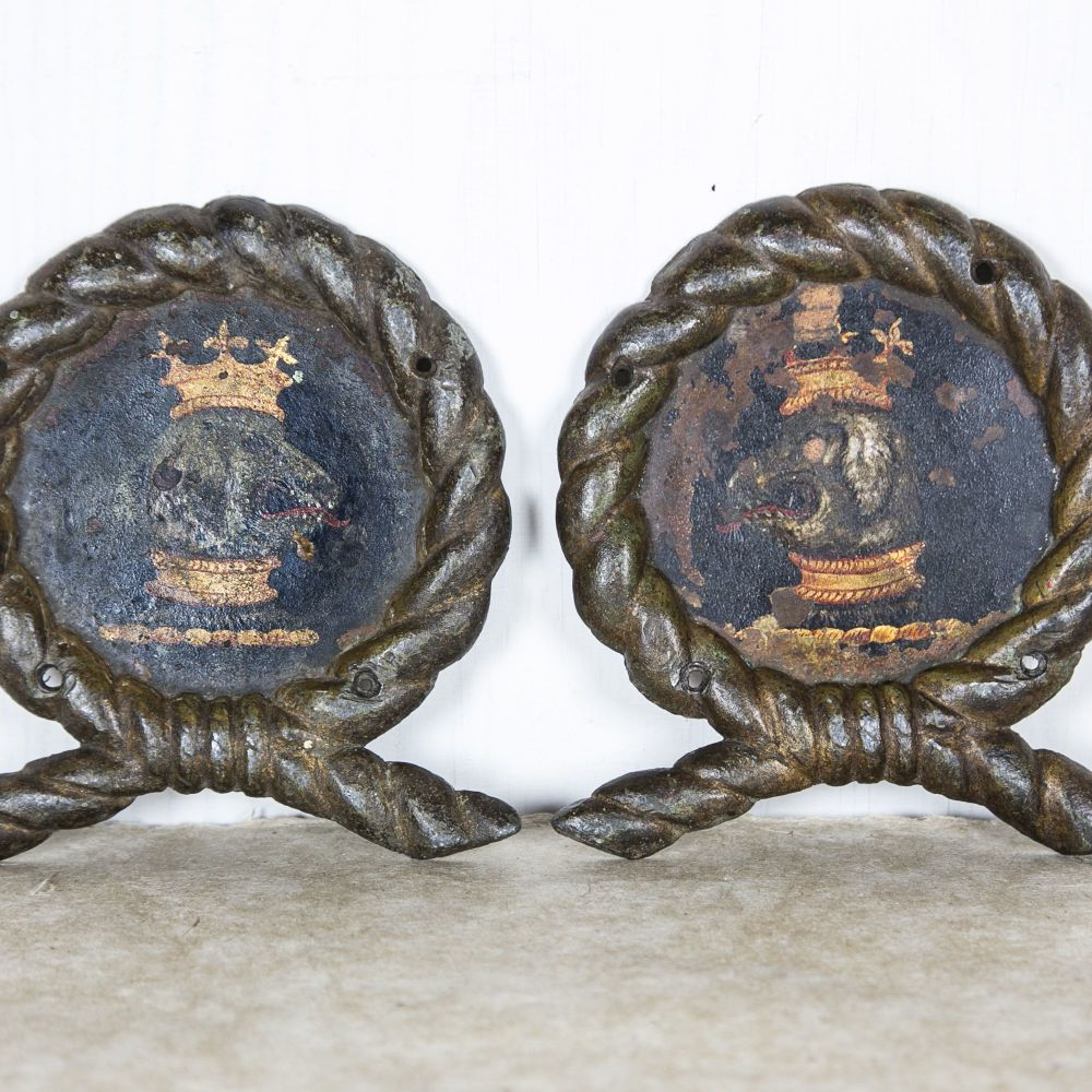 Royal Navy Painted Ship's Signs
