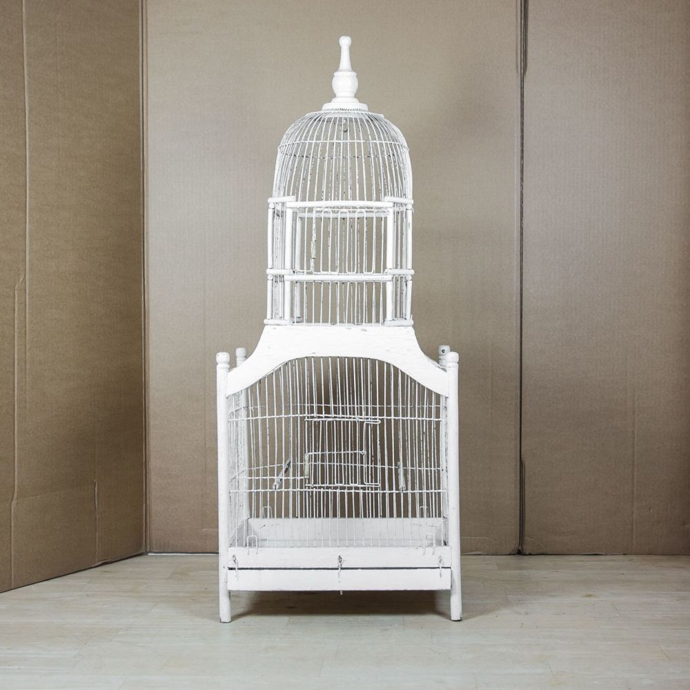 Antique  French Domed Birdcage.