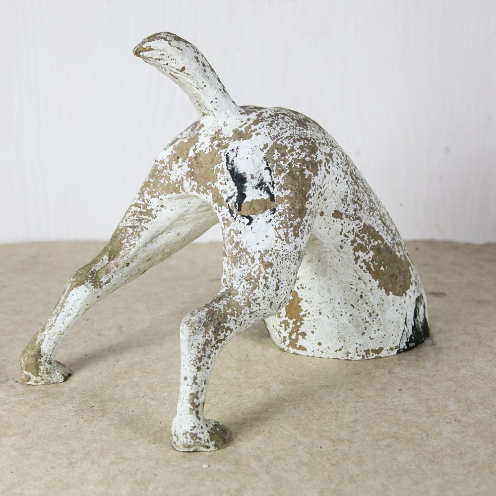 Dog Ceramic Sculpture