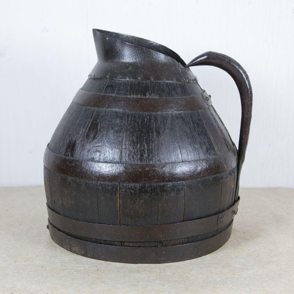 9th Century Coopered Oak Cider Jug