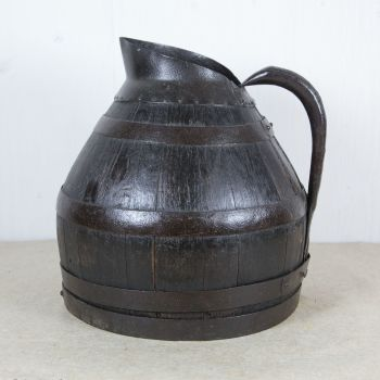 19th Century Coopered Oak Cider Jug SOLD