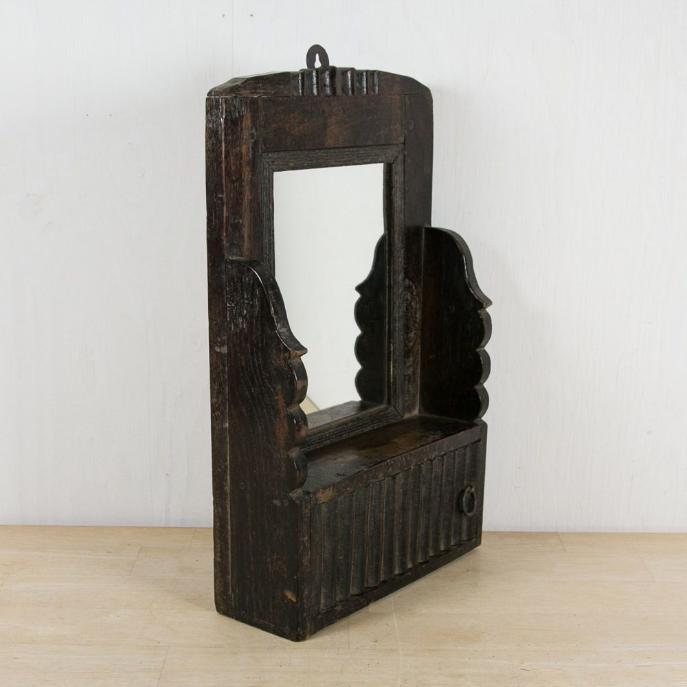 19th C. Gentleman's Shaving Mirror