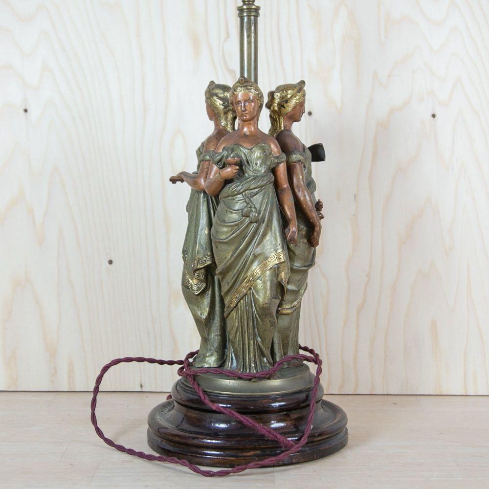 "1930s ""Diva Triformis"" Table Lamp SOLD"
