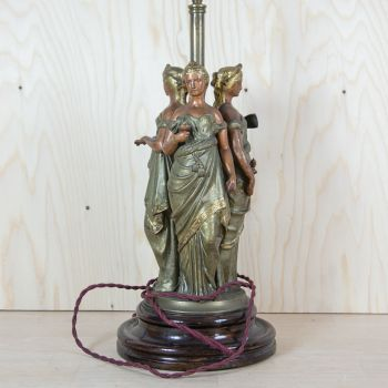 "1930s ""Diva Triformis"" Table Lamp SOLD"