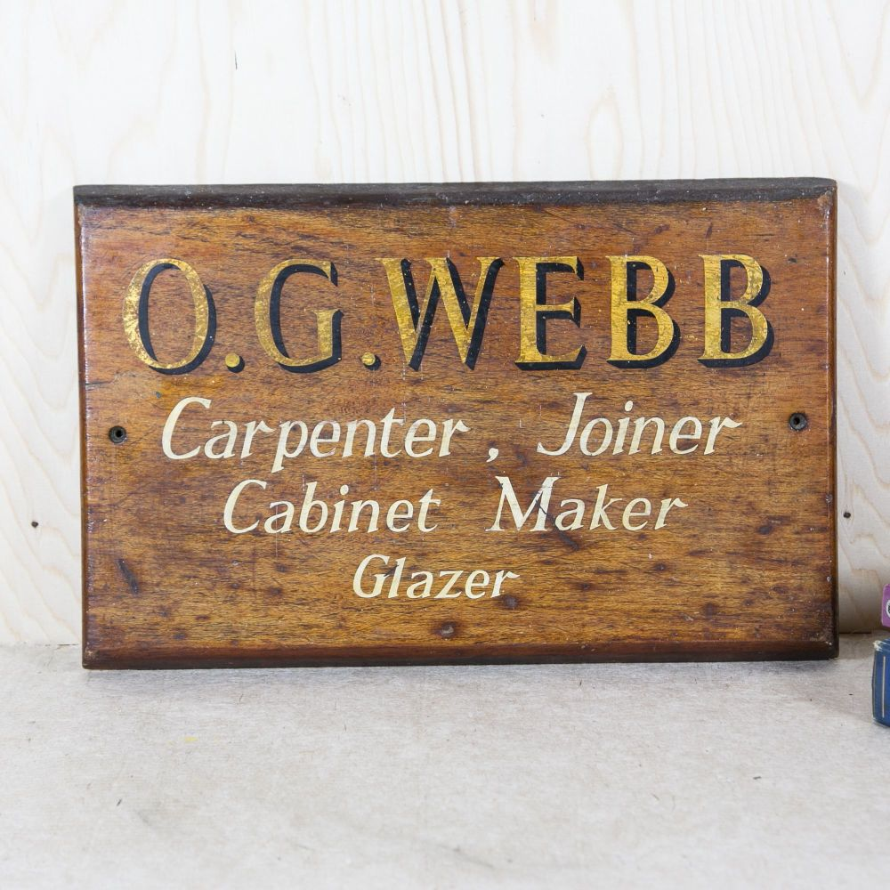Carpenters Trade Sign £165.00