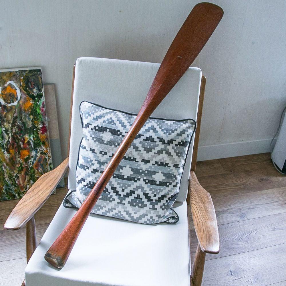 Vintage Wooden Canoe Paddle