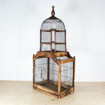 Antique French Dome Bird Cage SOLD
