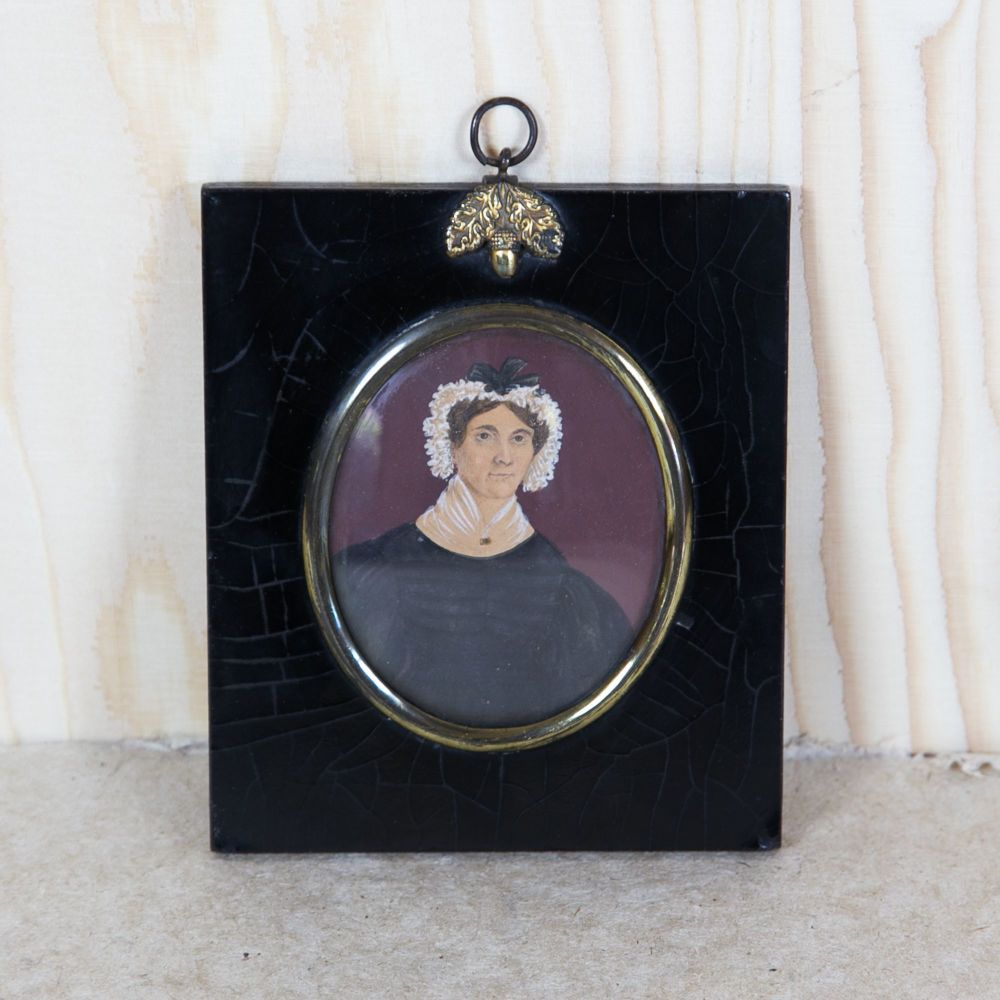 19th Century English Naive Miniature Painting £195.00