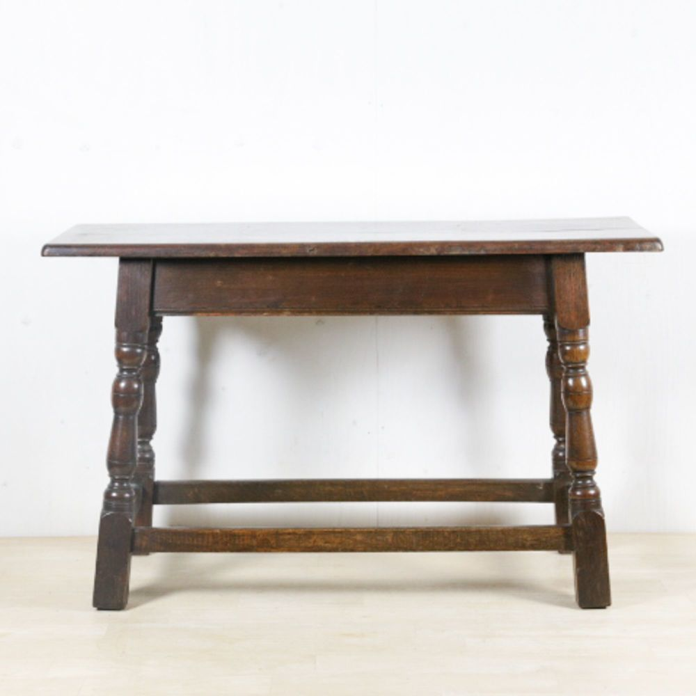 19th Century Long Oak Stool £425.00