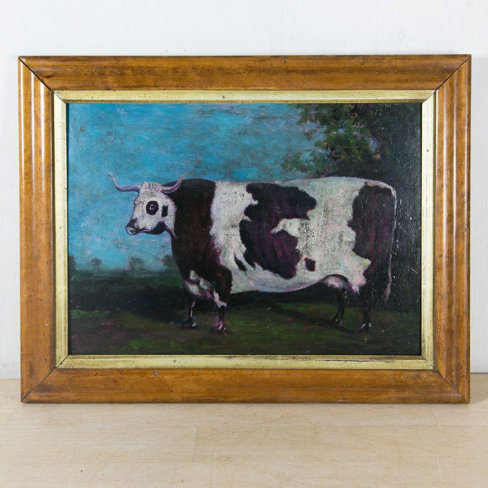 19th C. Prize Longhorn Cow £850.00
