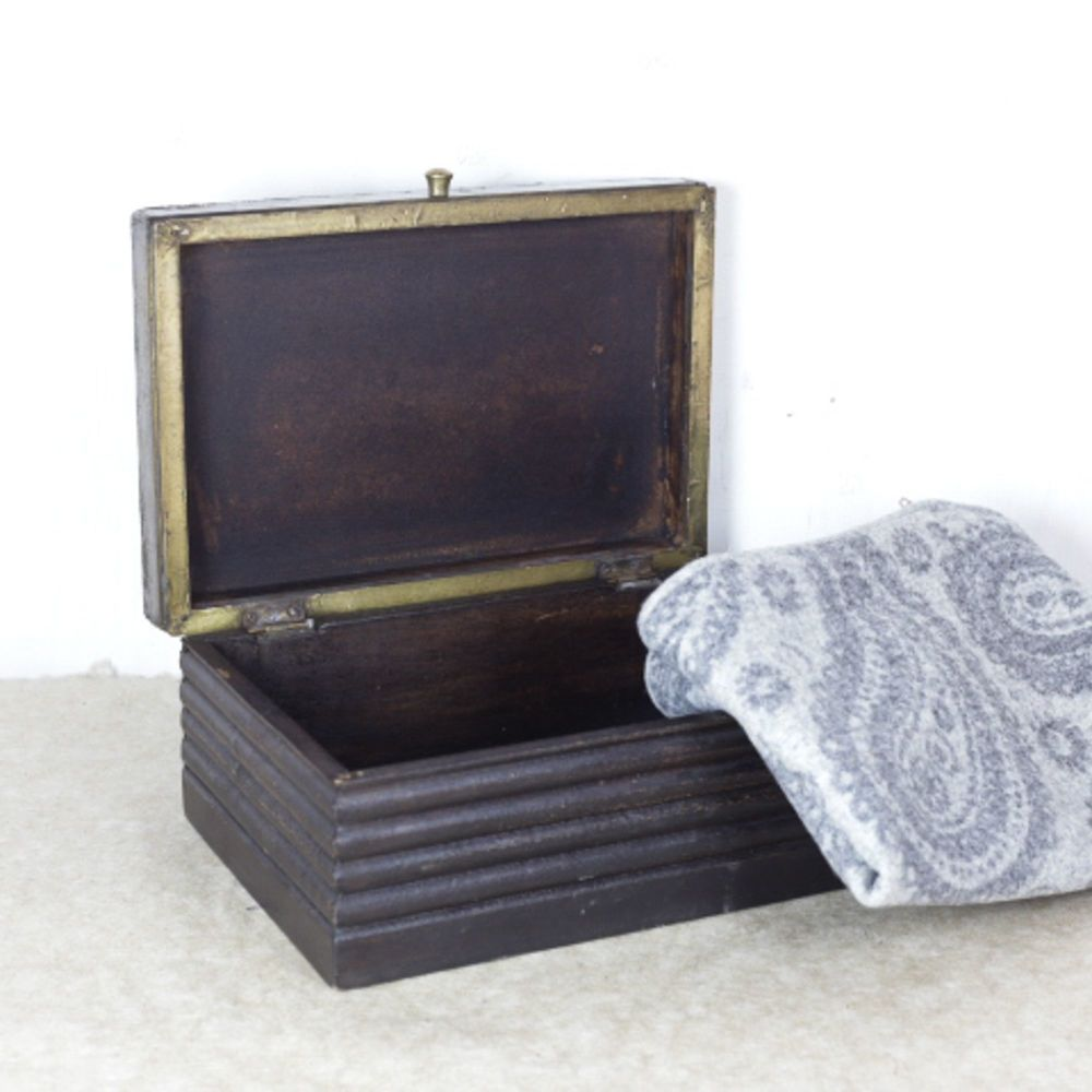 Decorative Paisley rapousse patterned box  Late Victorian or Edwardian. £75.00