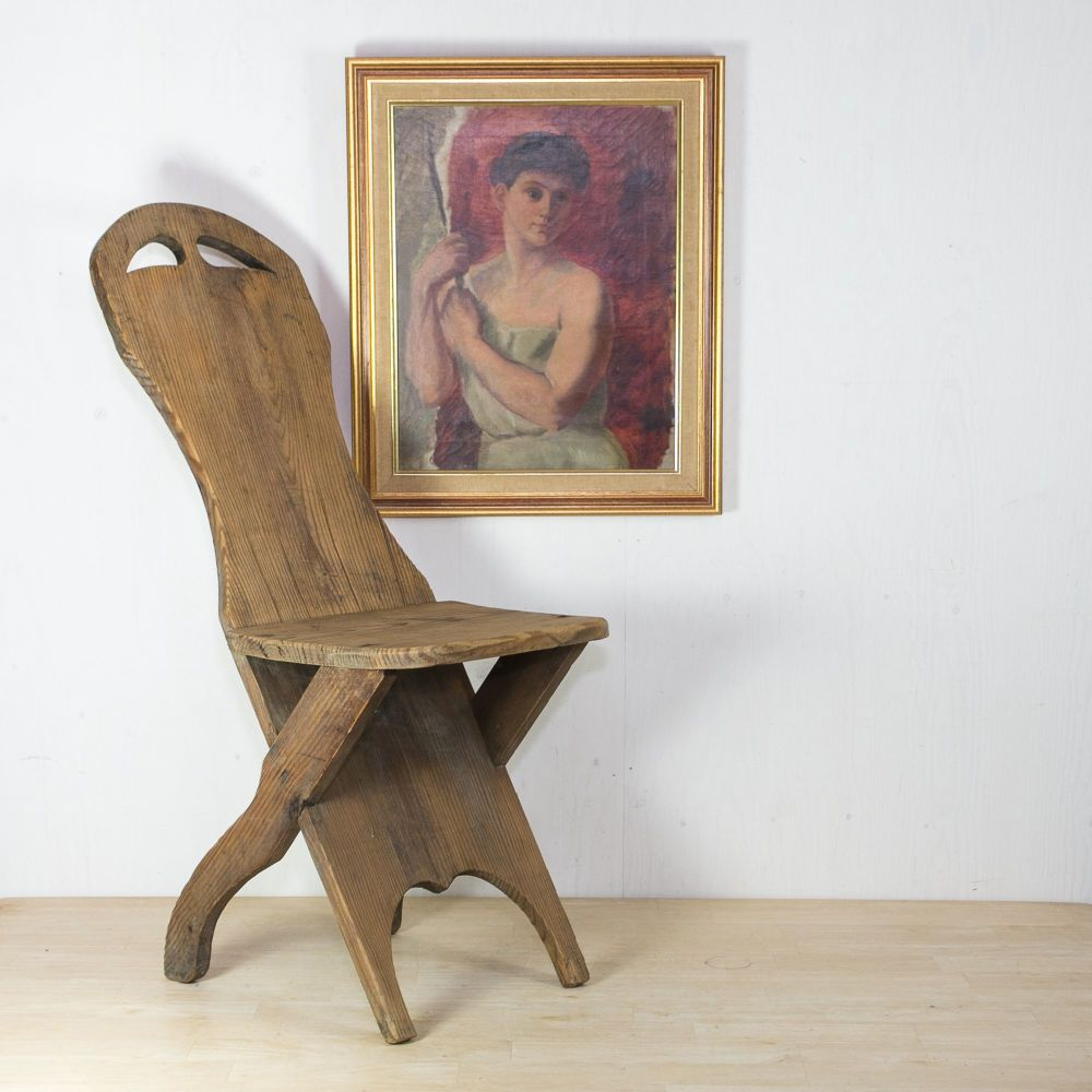 early 20th C. French Alpine Chair £245.00