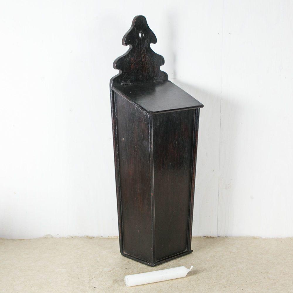 Georgian Oak Candle Box £225.00