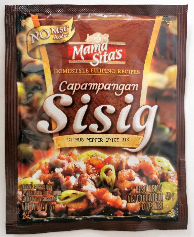 Mama Sita's Sisig (Hot & Sour) Mix 40g
