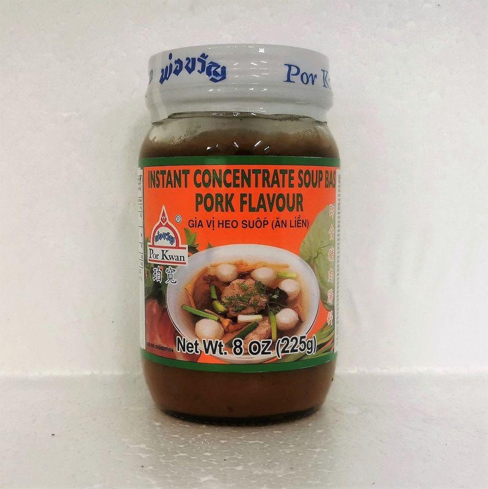 Por Kwan Instant Concentrated Soup Base Pork Flavour 225g