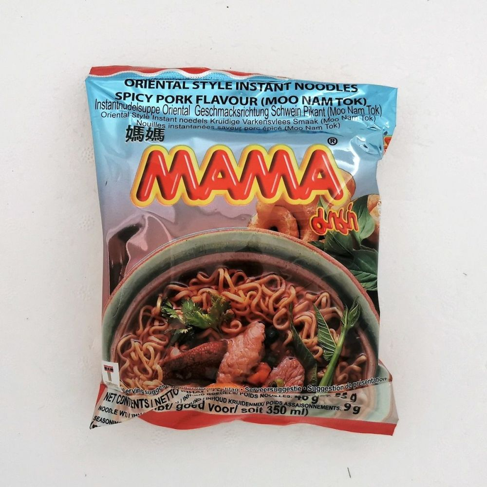 Mama Moo Nam Tok (Spicy Pork) Flavour 55g