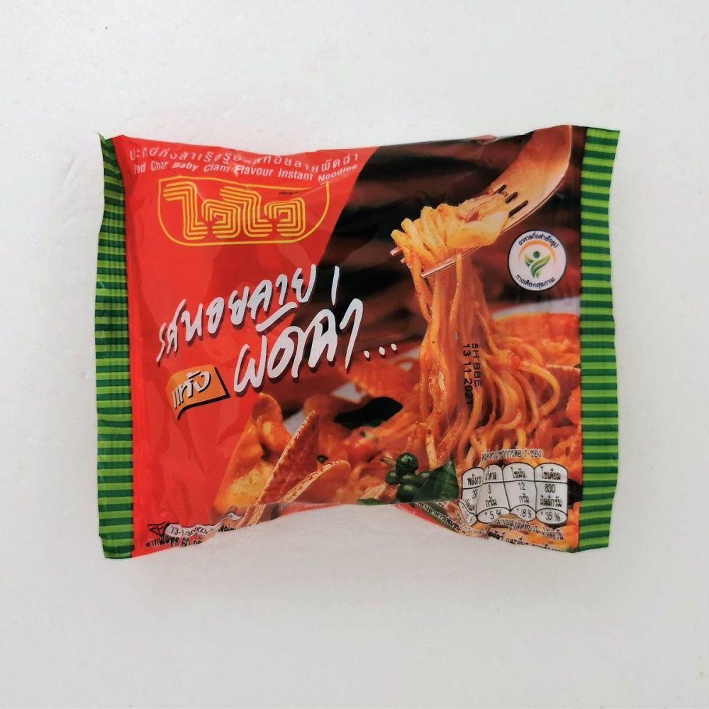 Wai Wai Thai Pad Char (Baby Clam) Flavour 60g