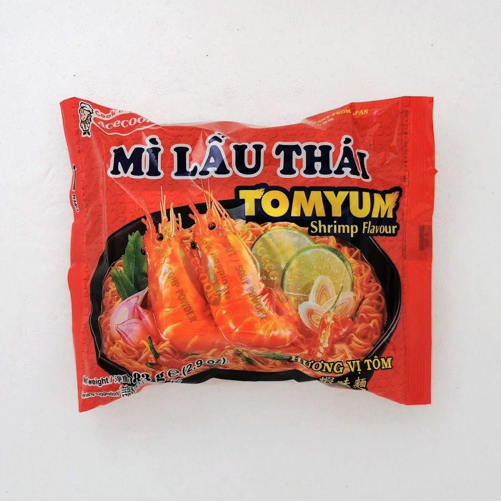 Mi Lau Thai Tom Yum Shrimp Flavour 83g