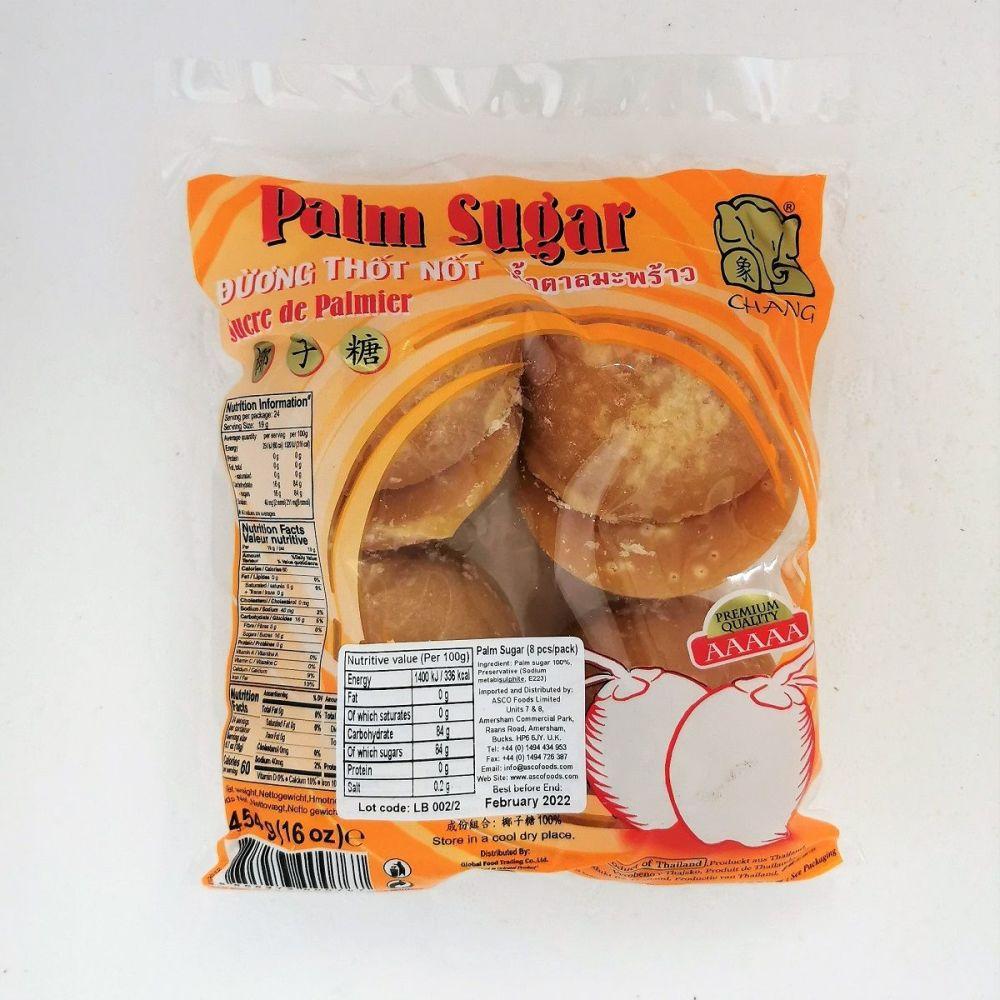 Chang Palm Sugar Blocks 8pcs 454g