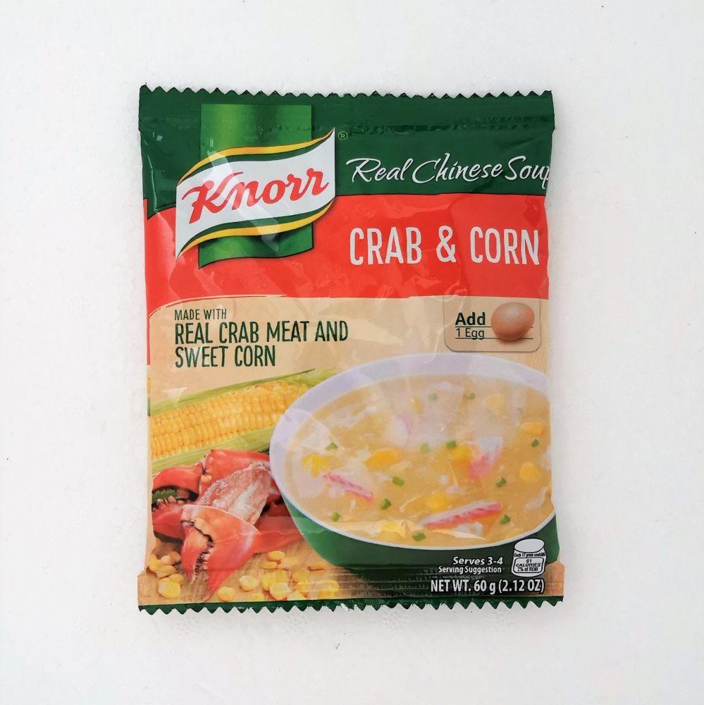 Knorr Crab & Corn Soup Mix 60g