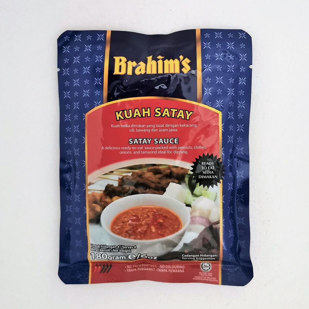 Brahim's Satay Sauce 180g