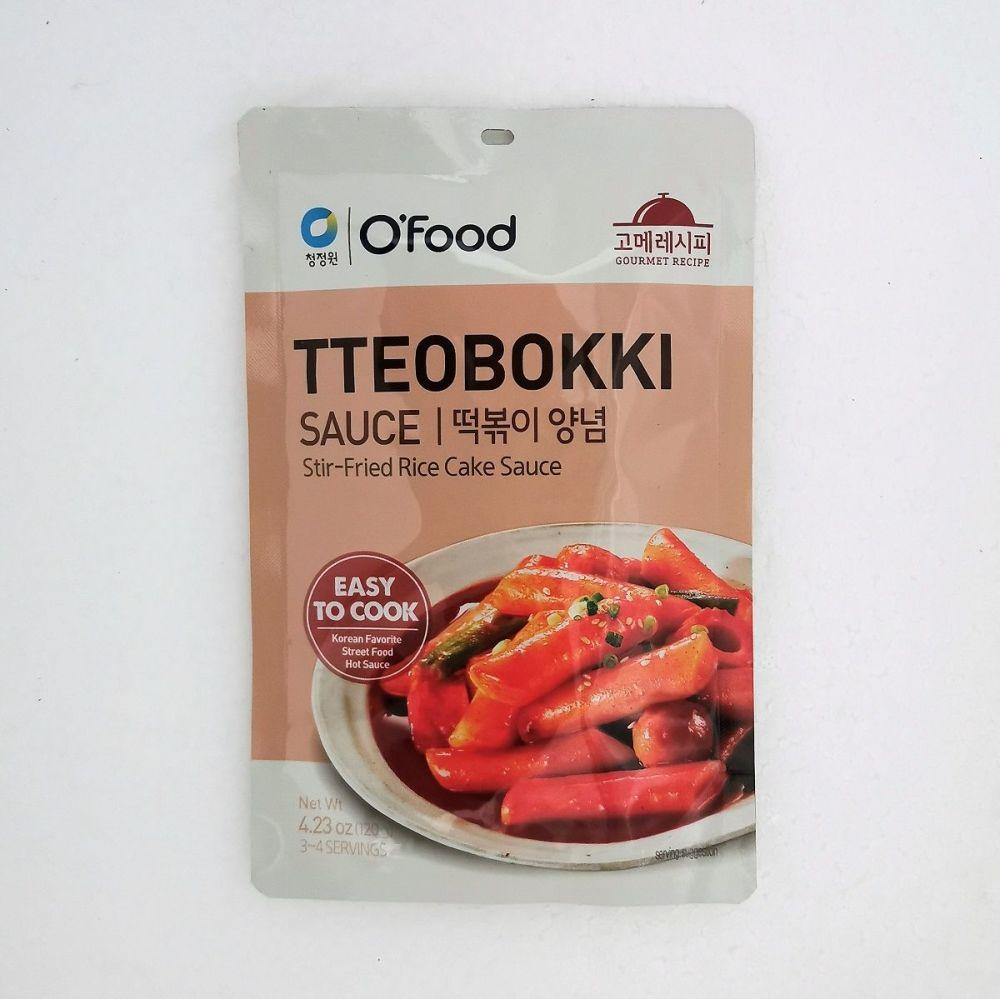 Tteobokki Sauce (Stir-Fried Rice Cake Sauce) 120g