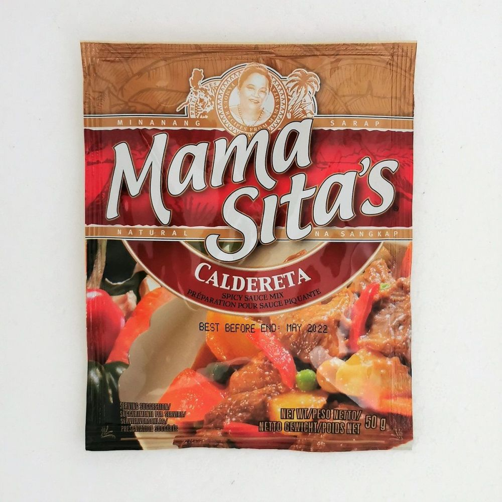 Mama Sita's Caldereta (Spicy Sauce Mix) 50g