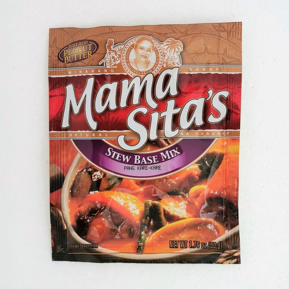 Mama Sita's Pang Kare-Kare (Stew Base) Mix 50g