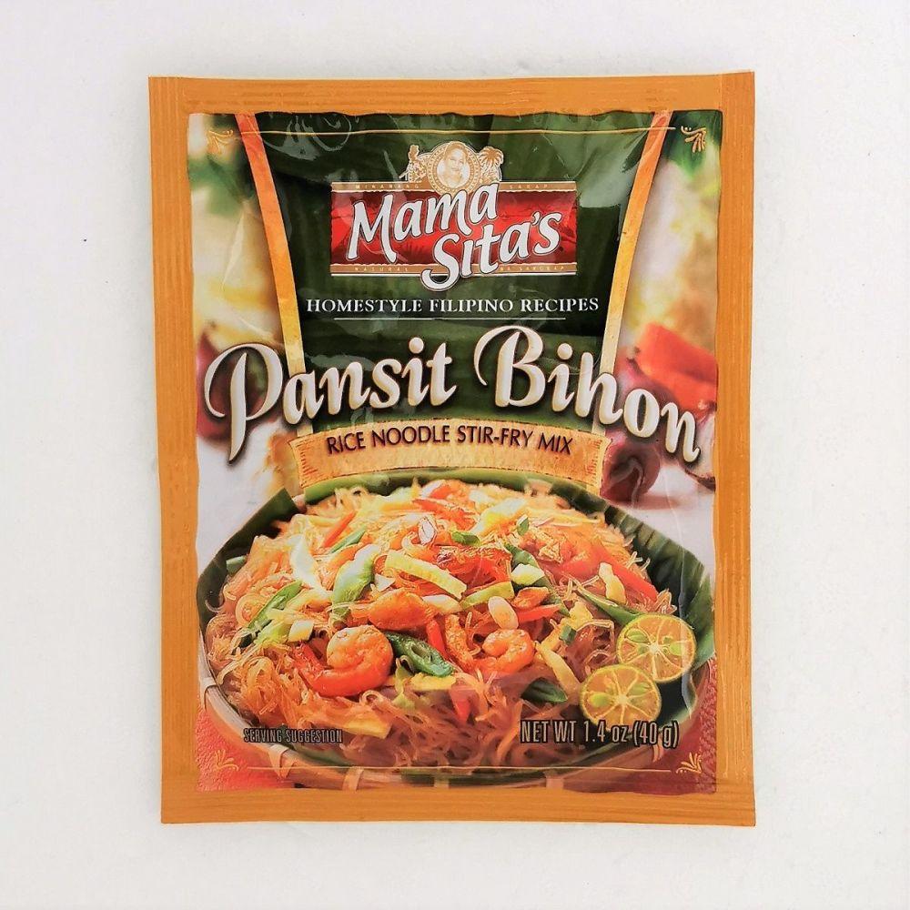 Mama Sita's Pansit Bihon (Rice Noodle Stir-Fry Mix) 40g
