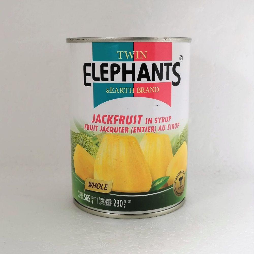 Twin Elephants Jackfruit in Syrup 565g