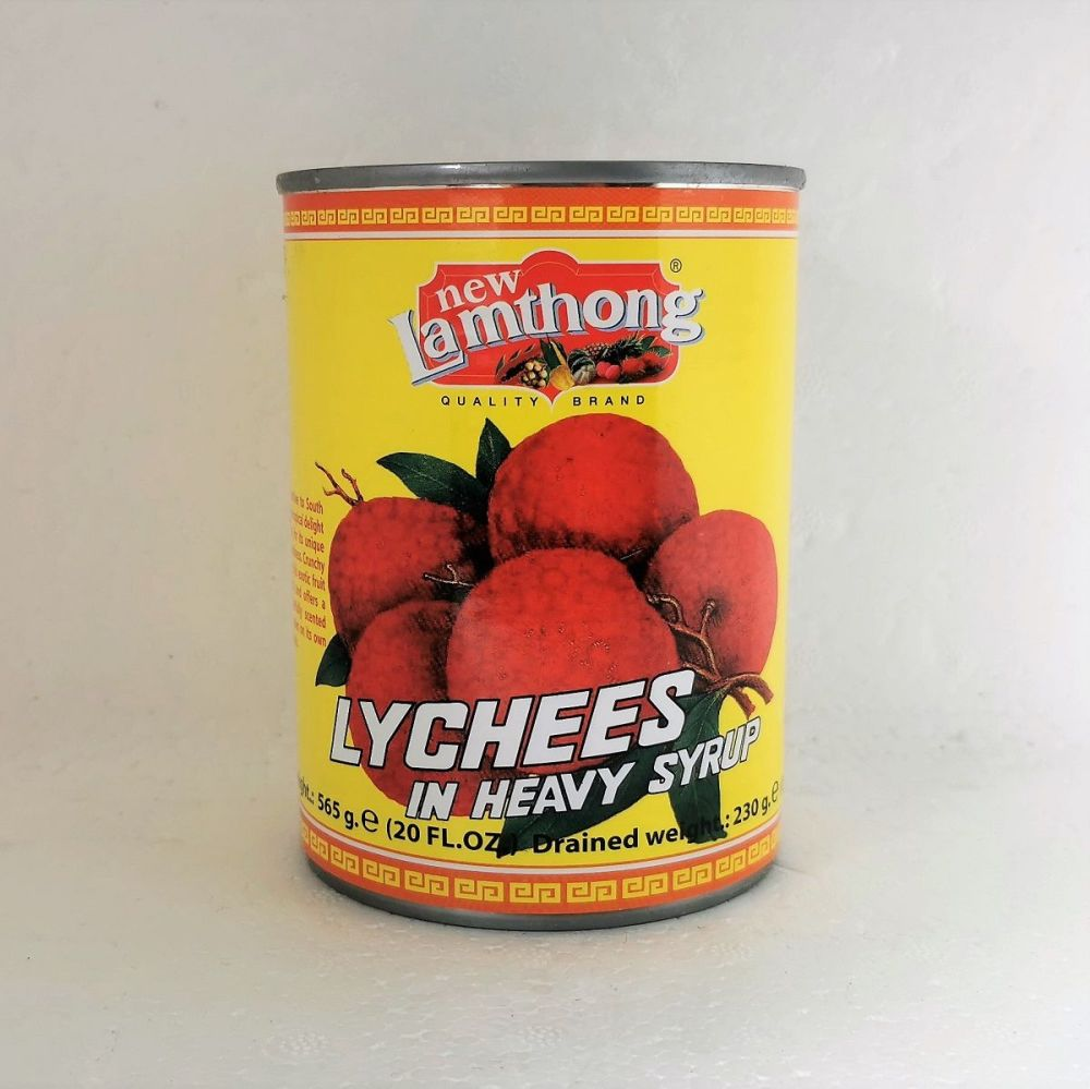New Lamthong Lychees in Heavy Syrup 565g
