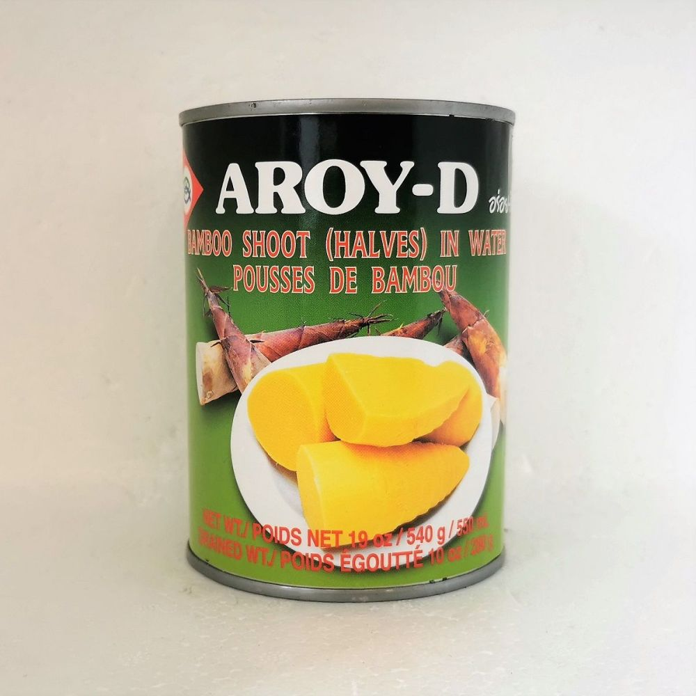 Aroy-D Bamboo Shoot Halves in Water 540g