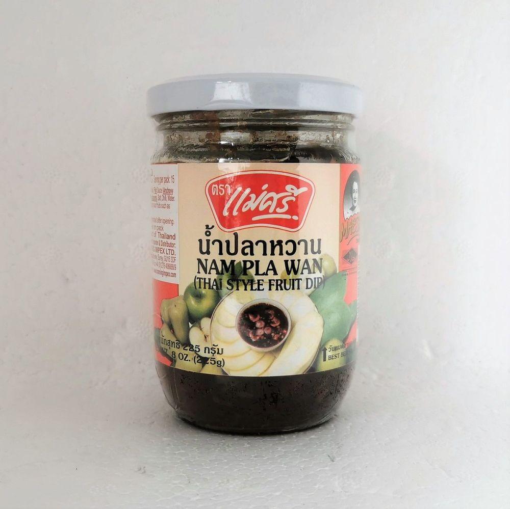 Maesri Nam Pla Wan (Thai Style Fruit Dip) 225g