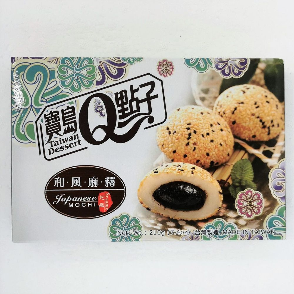 Q Japanese Mochi Sesame Flavour 210g