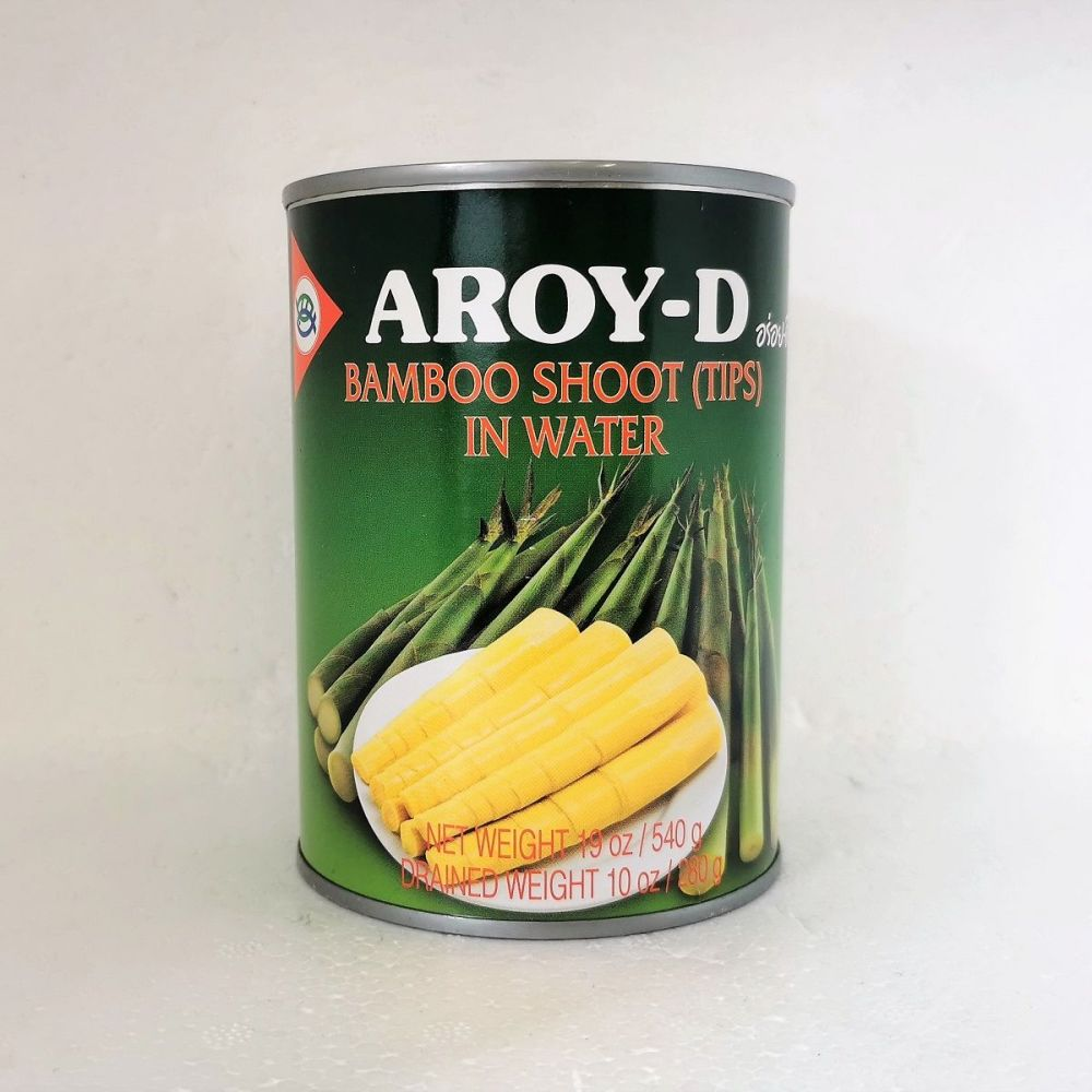 Aroy-D Bamboo Shoot Tips in Water 540g