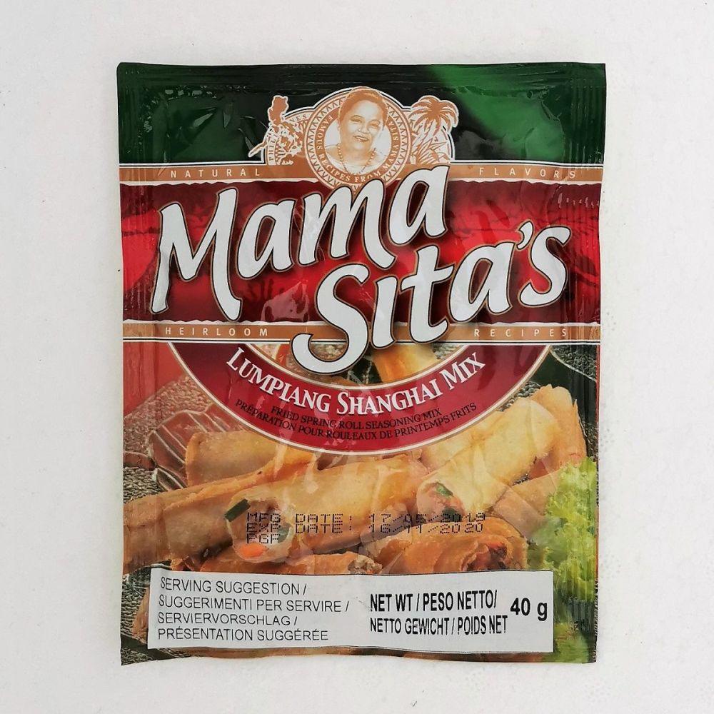 Mama Sita's Lumpiang Shanghai (Spring Roll Seasoning) Mix 40g