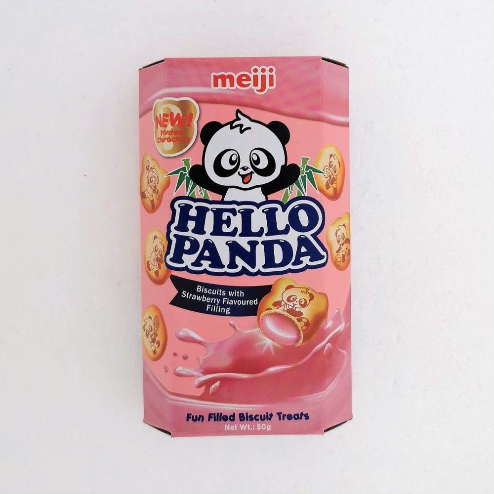 Meiji Hello Panda Strawberry Flavour 50g