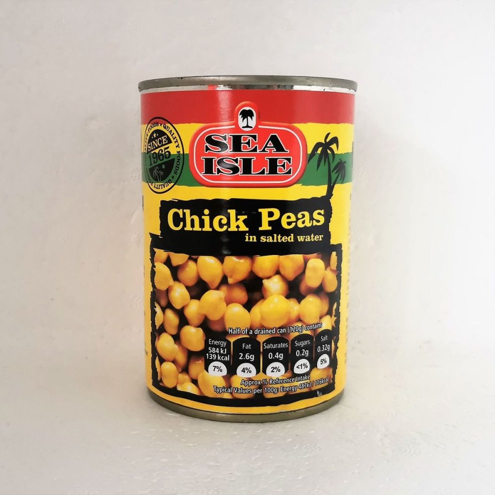 Sea Isle Chick Peas in Salted Water 400g